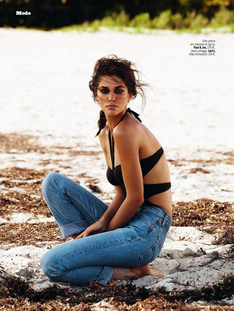 samantha gradoville swimwuit shoot7 Samantha Gradoville Has a Sizzling Summer in LExpress Styles Spread