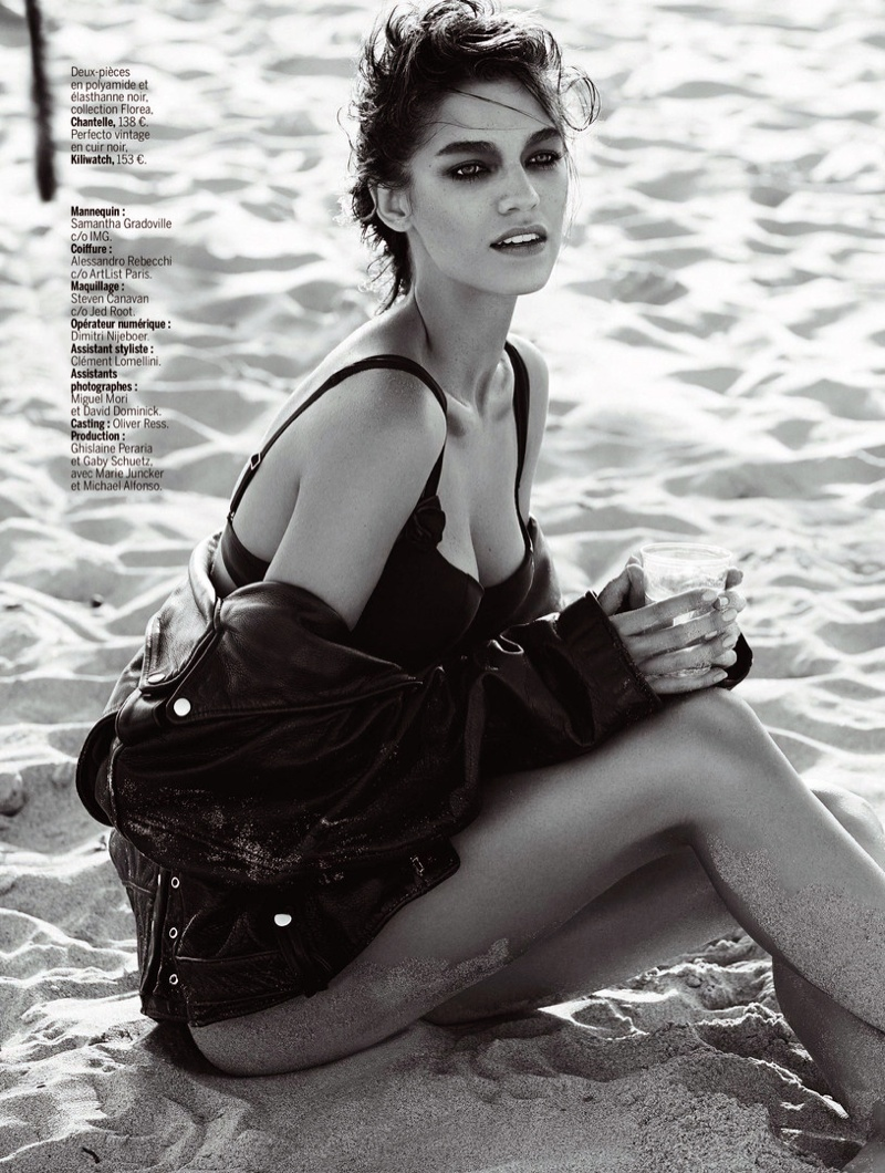 samantha gradoville swimwuit shoot9 Samantha Gradoville Has a Sizzling Summer in LExpress Styles Spread