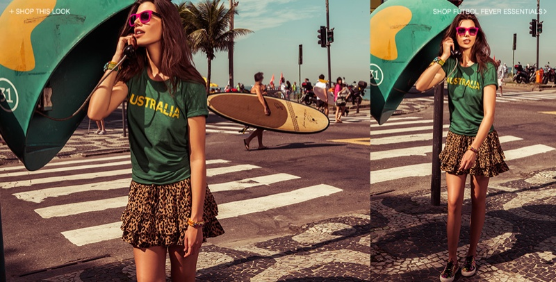 shopbop world cup5 World Cup Fever! TEXTILE Elizabeth and James Special Collection Debuts at Shopbop