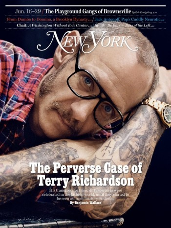 Terry Richardson Covers New York Magazine, Has No Regrets About Any of His Work