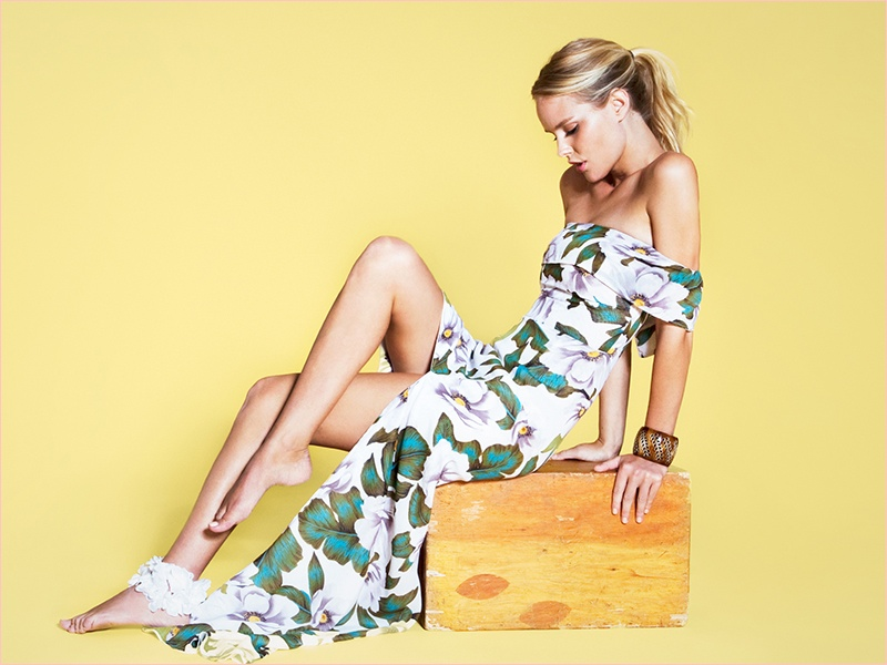 the reformation tiki shelby keeton3 Tropical Chic! Reformation Launches Tiki Collection