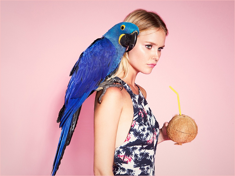 the reformation tiki shelby keeton4 Tropical Chic! Reformation Launches Tiki Collection