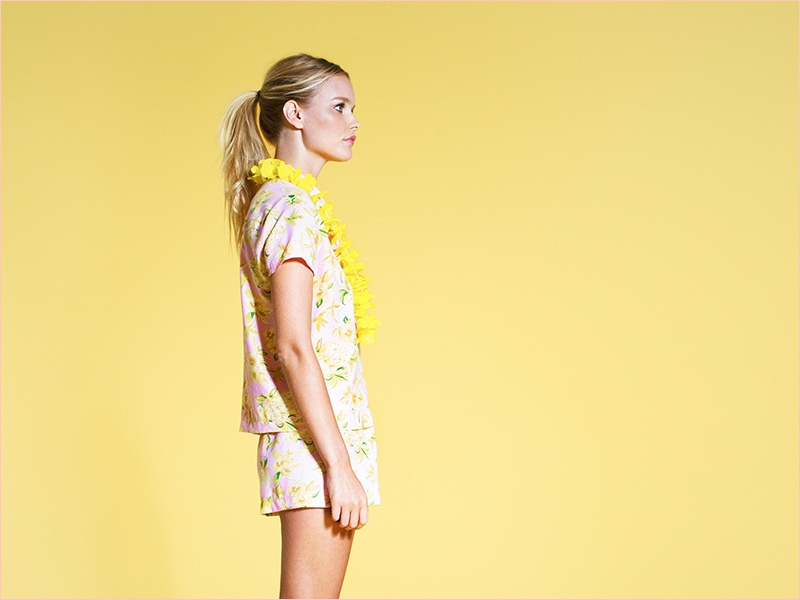 the reformation tiki shelby keeton5 Tropical Chic! Reformation Launches Tiki Collection