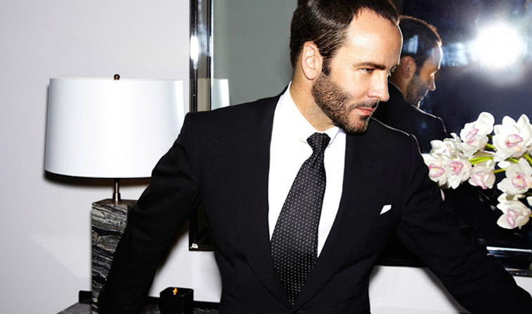 Tom Ford. Photo from designer's Facebook