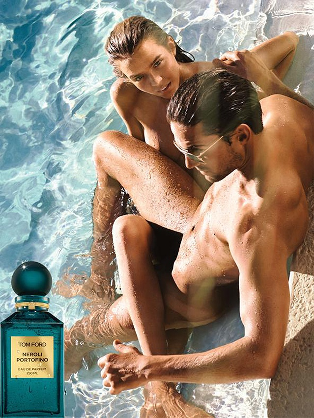 tom ford neroli portofino fragrance ad Josephine Skriver is Nearly Naked in Tom Ford Fragrance Ad