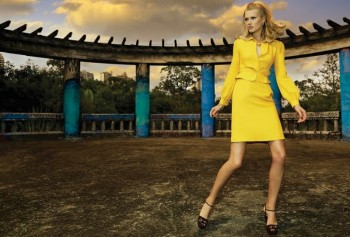 Toni Garrn Glams it Up for Henrique Gendre in S Moda Cover Story