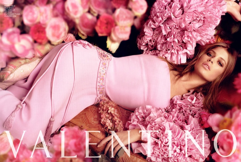Valentino Spring 2006 Campaign with Doutzen Kroes