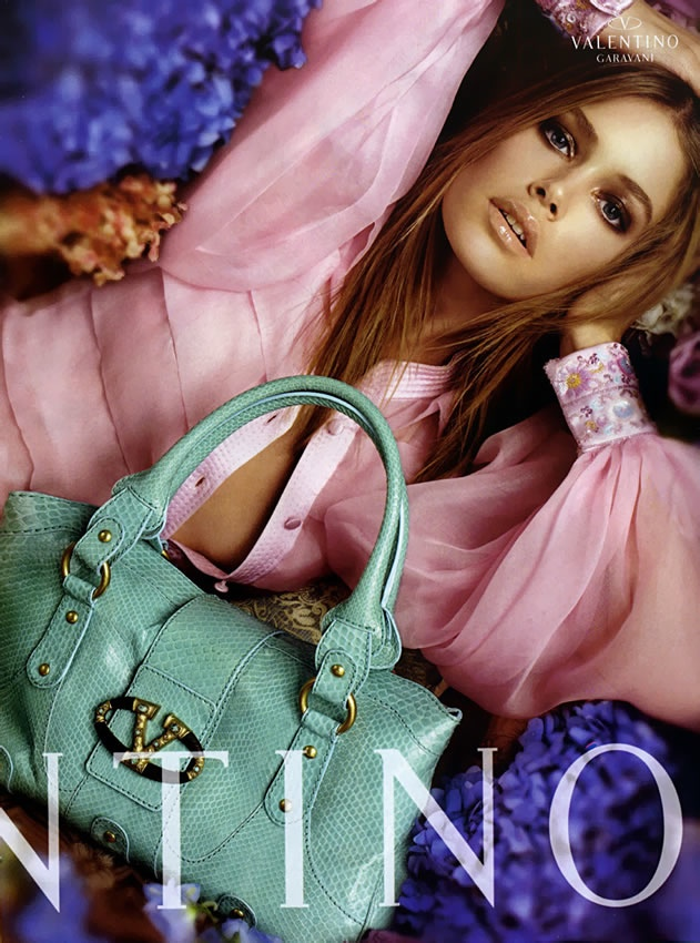 valentino spring 2006 ad campaign2 TBT | Doutzen Kroes is a Vision for Valentinos Spring 2006 Ad Campaign