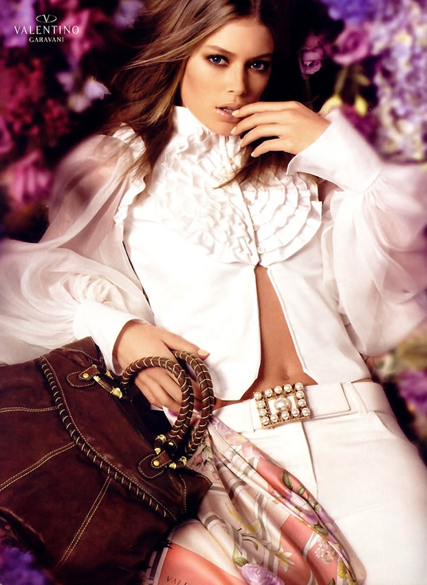 valentino spring 2006 ad campaign8 TBT | Doutzen Kroes is a Vision for Valentinos Spring 2006 Ad Campaign
