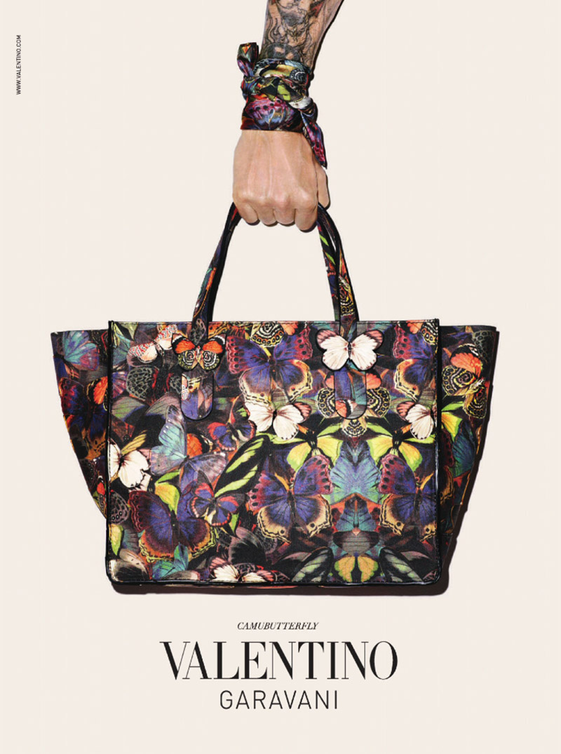 Terry Richardson for Valentino Fall '14 Accessories Ad Photos
