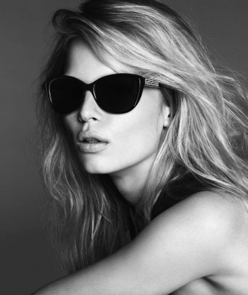 Anna Ewers Fronts Versace 2014 Sunglasses Campaign