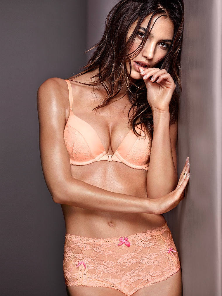 victorias secret lily aldridge lingerie3 Lily Aldridge Brings the Heat in Victorias Secret Lingerie Shoot