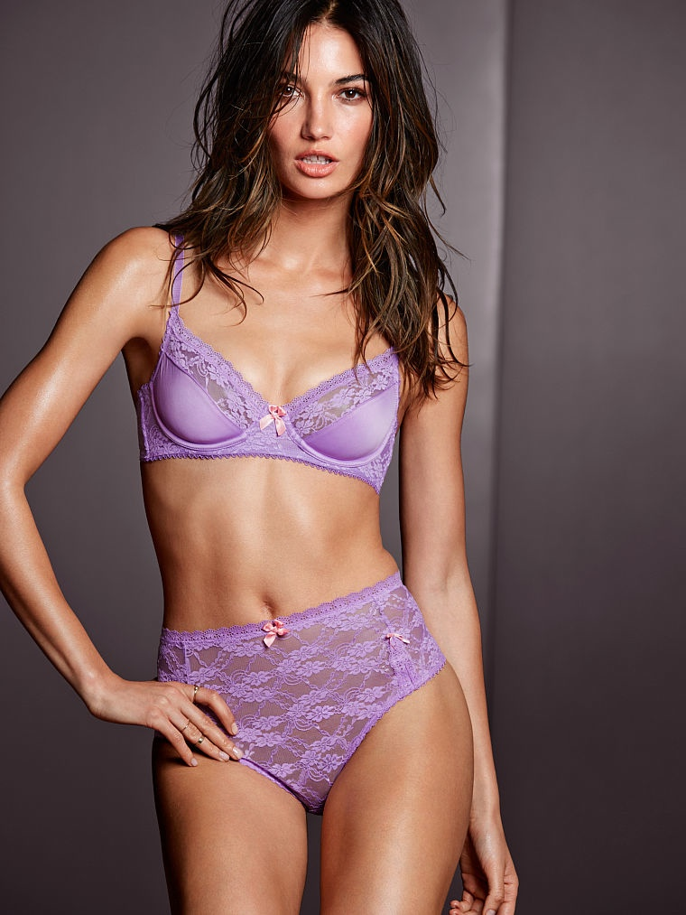 victorias secret lily aldridge lingerie4 Lily Aldridge Brings the Heat in Victorias Secret Lingerie Shoot