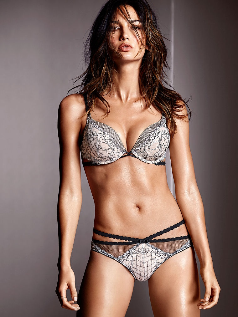 victorias secret lily aldridge lingerie8 Lily Aldridge Brings the Heat in Victorias Secret Lingerie Shoot