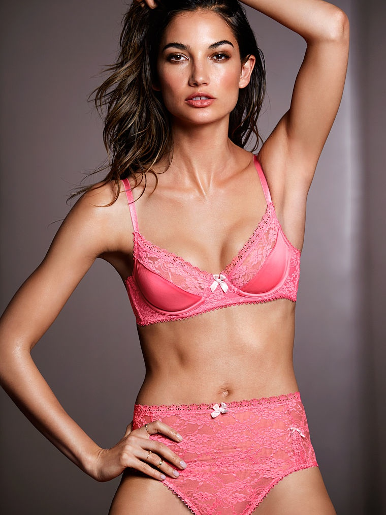 victorias secret lily aldridge lingerie9 Lily Aldridge Brings the Heat in Victorias Secret Lingerie Shoot
