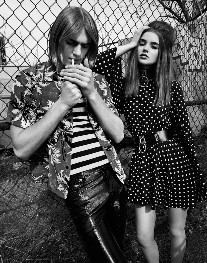young love jason kim3 Young Love: Ali Michael is 60s Chic for The Wild by Jason Kim