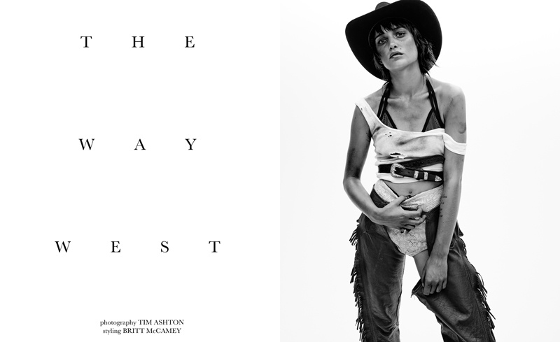 "FGR Exclusive | Zana Dandy by Tim Ashton in ""The Way West"""