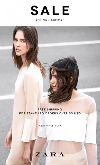 Zara's Summer Sale is Here! + Free Shipping