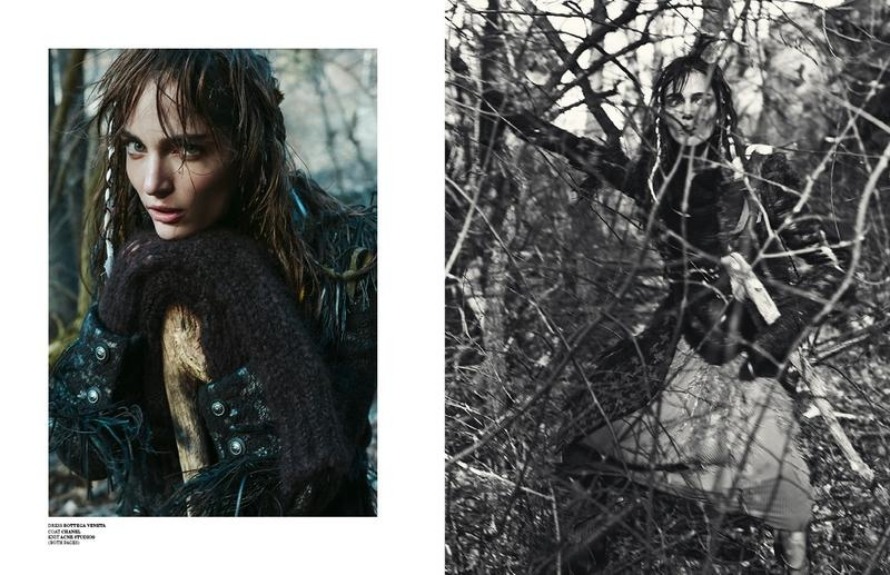 zuzanna bijoch scare crow7 Zuzanna Bijoch Gets Gritty for Scandinavia S/S/A/W Shoot