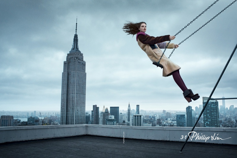 3.1 Phillip Lim Takes to the Skies for Fall 2014 Campaign