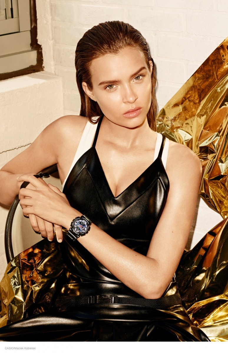 Casio G Shock Womens Watches02 774x1200 Casio G Shock Launches First Womens Watches, Taps Josephine Skriver to Model