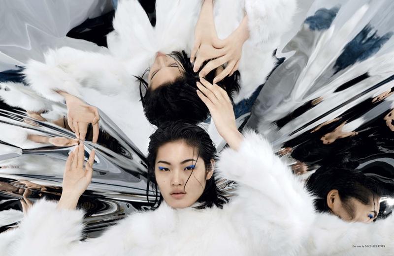 Chiharu Okunugi Reflects for Narcisse Magazine by Jonas Bresnan
