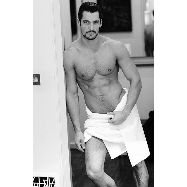 David Gandy Shirtless Man Crush Monday: 10 Hot Male Models in Shirtless Instagrams