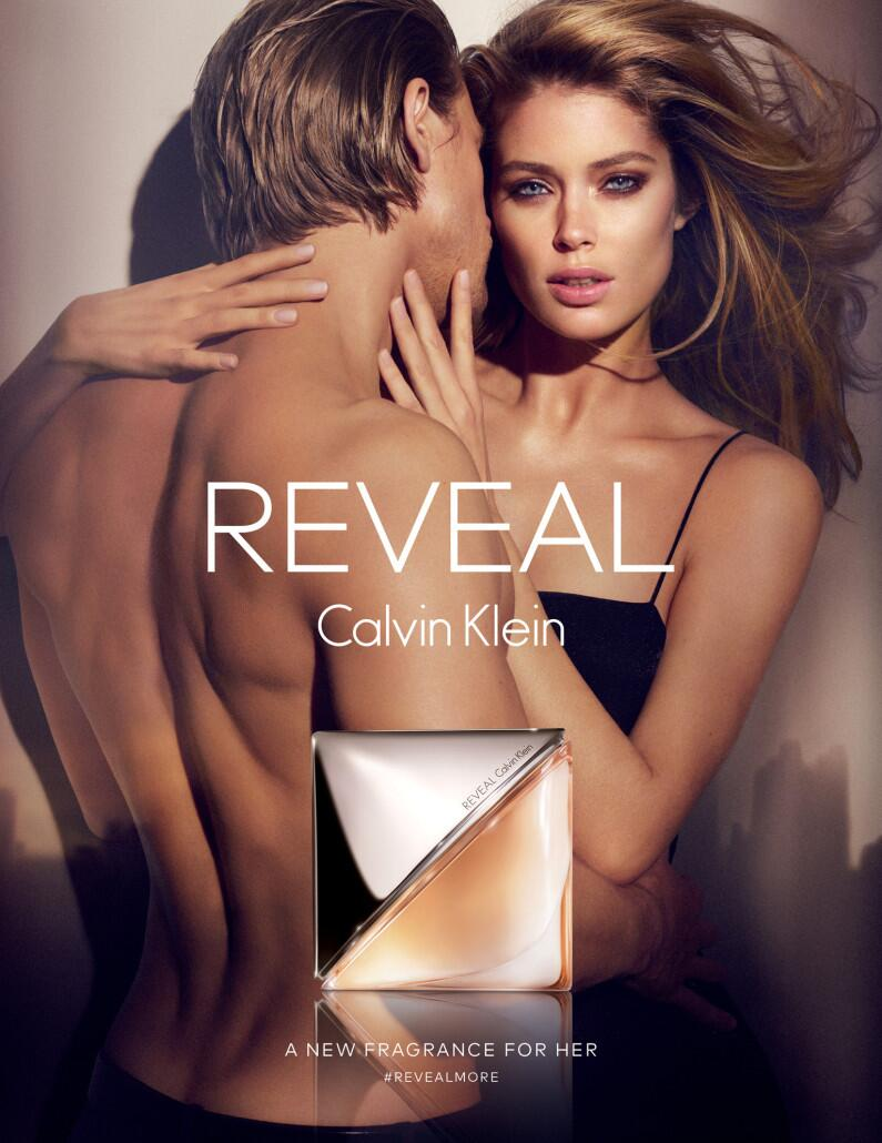 "See Doutzen Kroes' Steamy Calvin Klein ""Reveal"" Fragrance Ad"