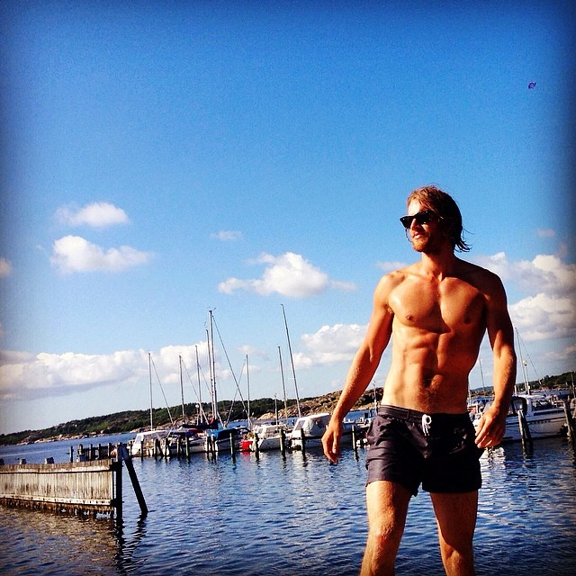 Hampus Luck Shirtless Man Crush Monday: 10 Hot Male Models in Shirtless Instagrams