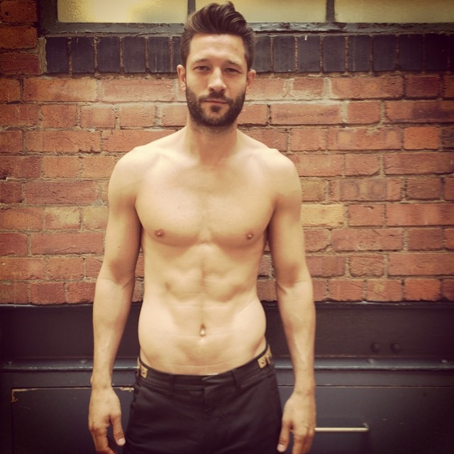 John Halls Shirtless Man Crush Monday: 10 Hot Male Models in Shirtless Instagrams