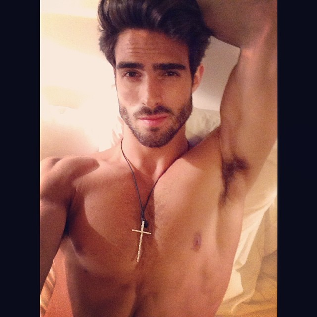 Juan Betancourt Selfie Man Crush Monday: 10 Hot Male Models in Shirtless Instagrams