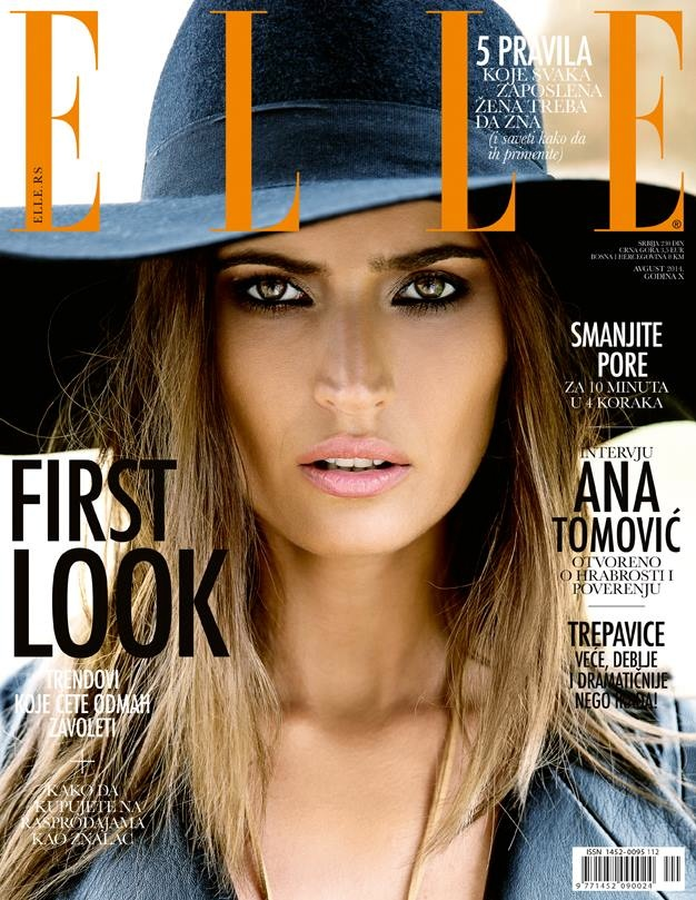Maja Latinovic Model7 Maja Latinovic is Nomadic Chic for Elle Serbia August Cover Shoot