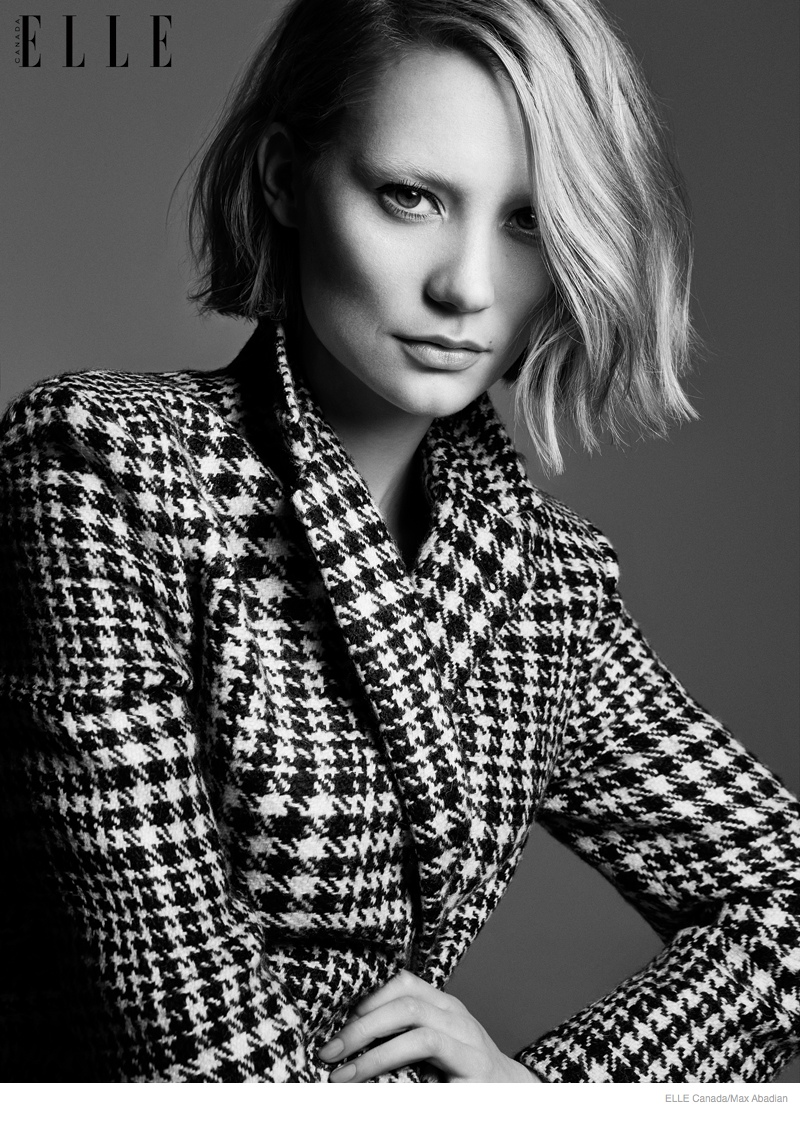 Mia Wasikowska Wears Fall Style for Elle Canada Cover Story