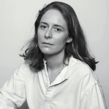 Nadège Vanhee-Cybulski photographed by Inez Van Lamsweerde and Vinoodh Matadin