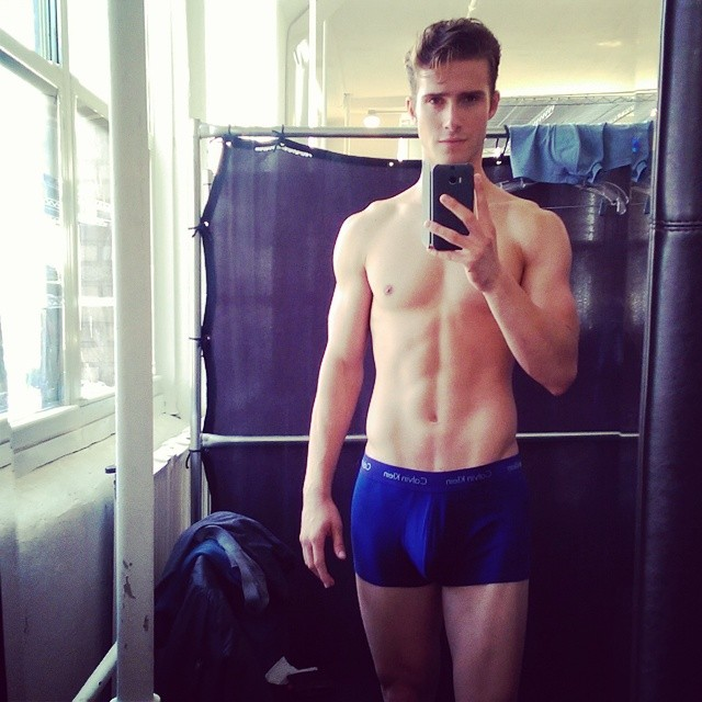 Ryan Taylor Shirtless Man Crush Monday: 10 Hot Male Models in Shirtless Instagrams