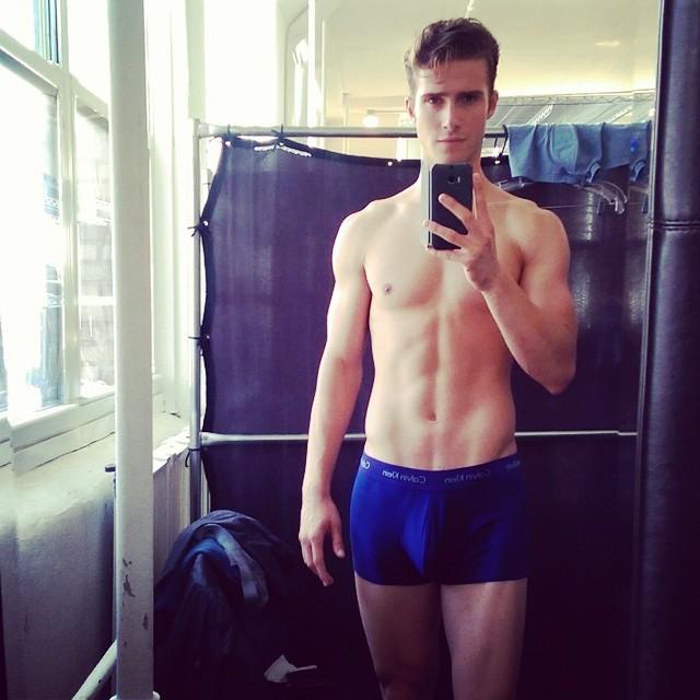 Ryan Taylor in Calvin Klein Underwear