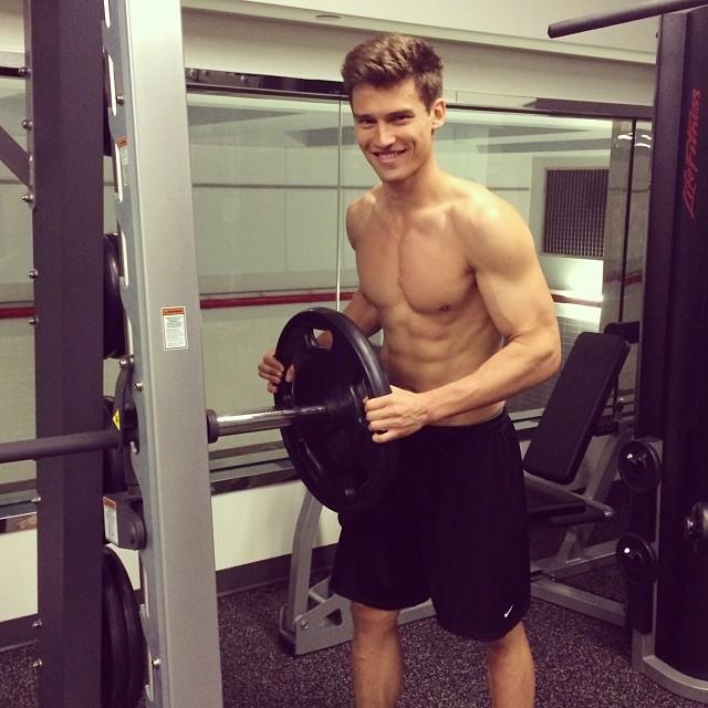 Vladimir Ivanov at a workout
