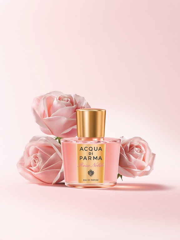 acqua parma rosa nobile Acqua di Parma Launches Rosa Nobile Eau de Parfum