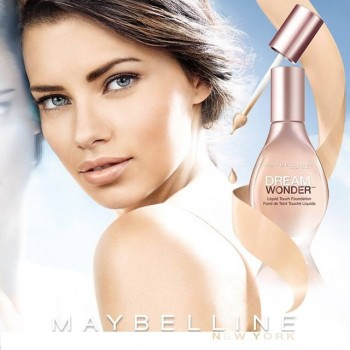 Adriana Lima is a Dream in New Maybelline Ad
