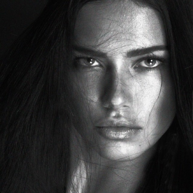 Adriana lima black and white pictures, alias bikini clip garner jennifer