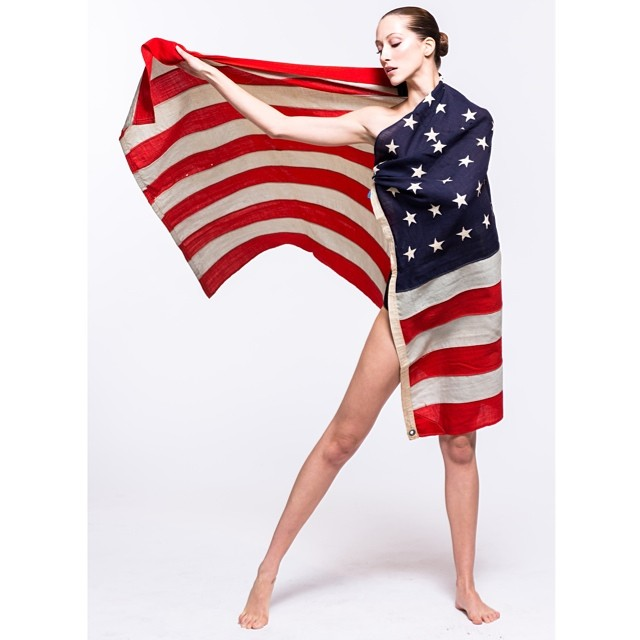 alana flag Celebrating the 4th: Miranda Kerr, Alessandra Ambrosio + More Independence Day Instagrams