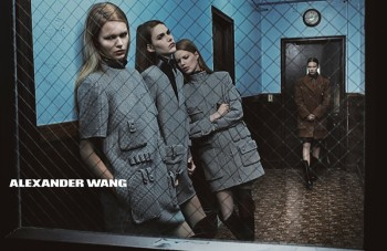 Models Get Arrested in Alexander Wang's Fall 2014 Campaign