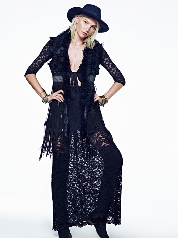 Aline Weber Stars in Free People's July Lookbook Featuring Western Trends