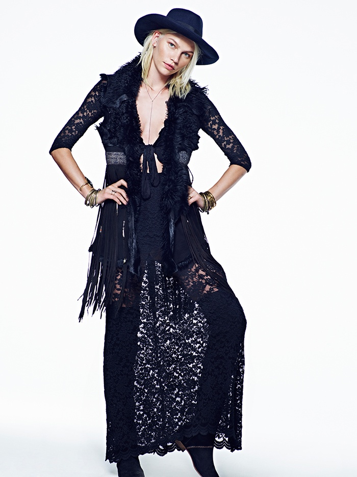 aline weber free people 2014 1 Aline Weber Stars in Free Peoples July Lookbook Featuring Western Trends