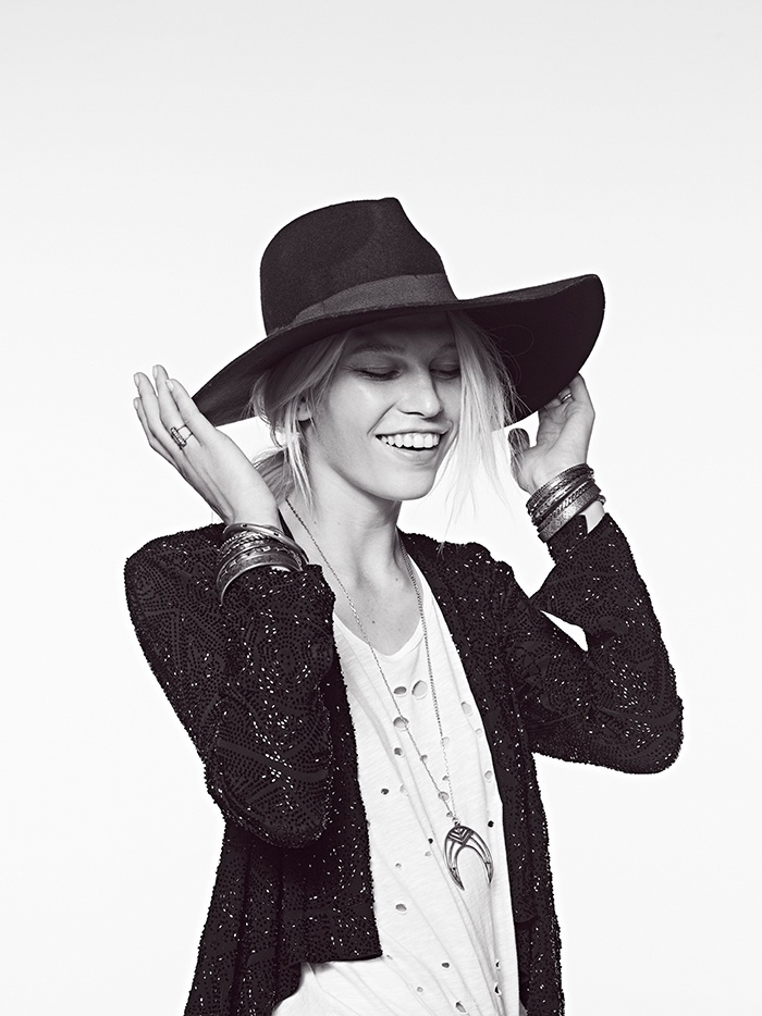aline weber free people 2014 6 Aline Weber Stars in Free Peoples July Lookbook Featuring Western Trends