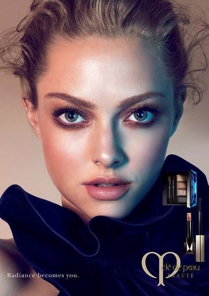 amanda seyfried cle de peau beaute 2014 campaign1 Amanda Seyfried Stuns in New Clé de Peau Beauté Ads