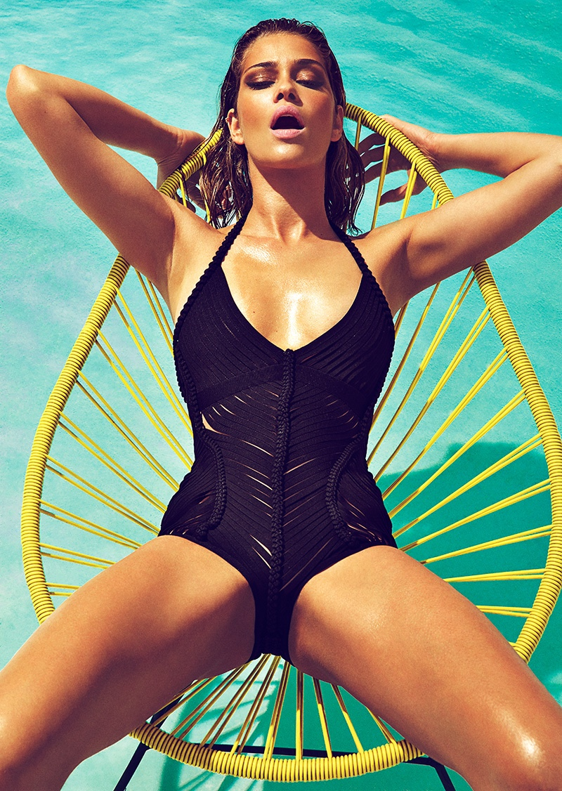 ana beatriz barros swimsuits3 Ana Beatriz Barros Sizzles in Swimsuit Style for GQ Spain Shoot by Richard Ramos
