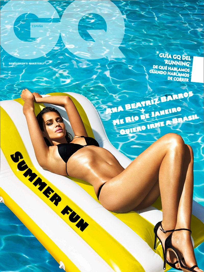 ana beatriz barros swimsuits9 Ana Beatriz Barros Sizzles in Swimsuit Style for GQ Spain Shoot by Richard Ramos