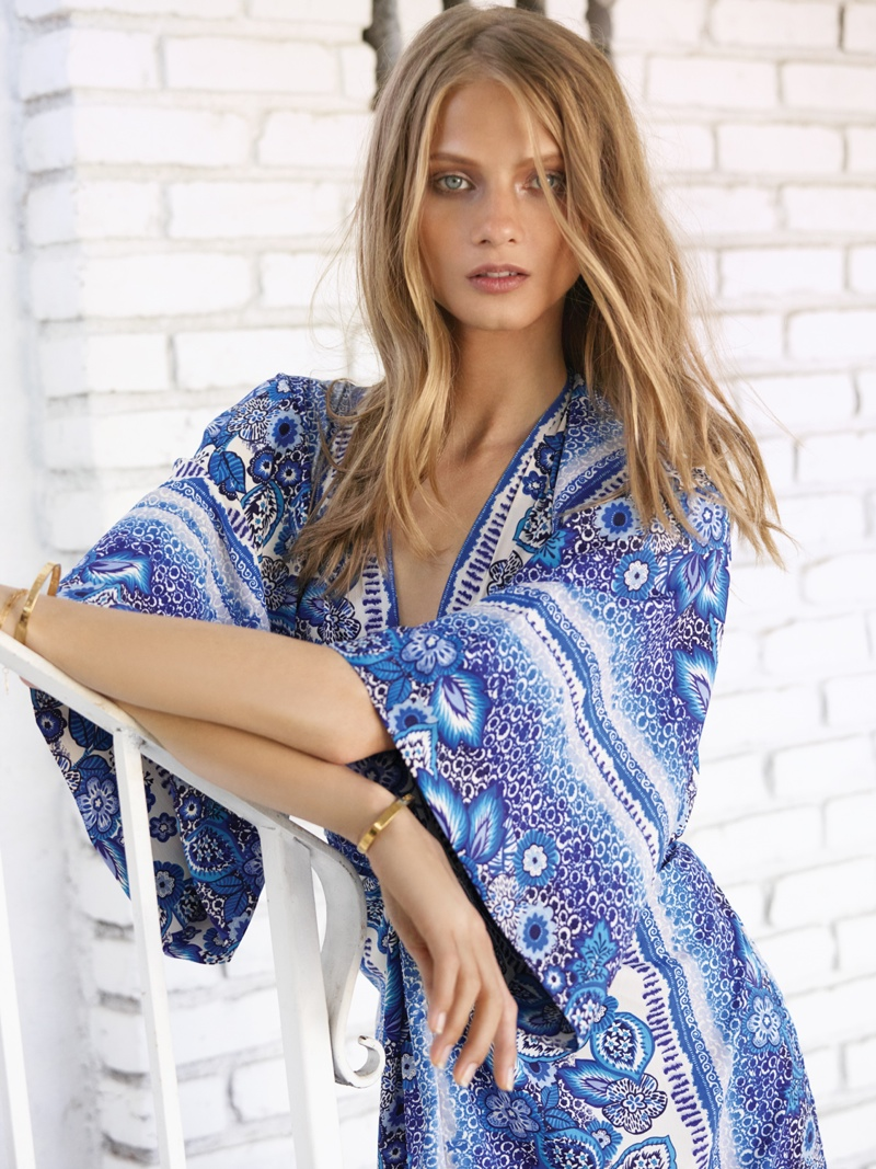 anna selzneva 2014 revolve clothing7 Anna Selezneva is Bohemian Glam for REVOLVE Clothings Tularosa Shoot