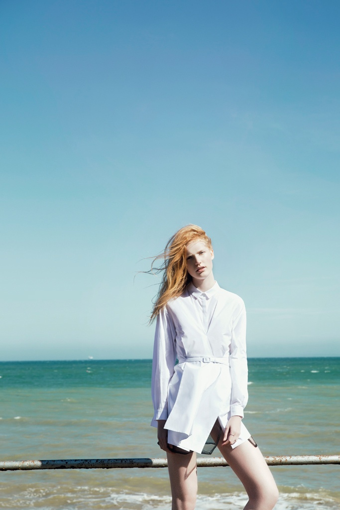 anniek kortleve model8 By the Sea: Anniek Kortleve at the Beach for LOfficiel Mexico by Sevda Albers